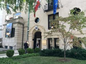 Norway's Embassy on Massachusetts Ave. (Embassy Row)